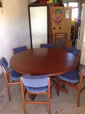 Dining Table 6 X Chairs Made By E Meyer For Binnehuis Interiors