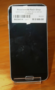 Samsung Galaxy S6 32GB Cellphone S023401A #Rosettenvillepawnshop