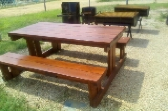 Garden Benches And Braai Tables Roodeplaat Garden