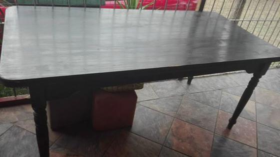 Large table diningroom furniture 65718544 junk for Dining room tables port elizabeth