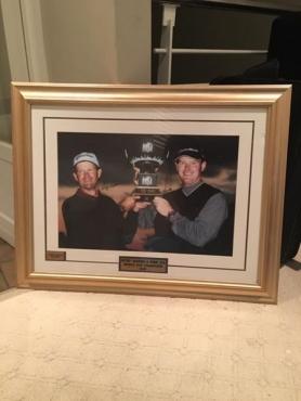 Golf memorabilia.