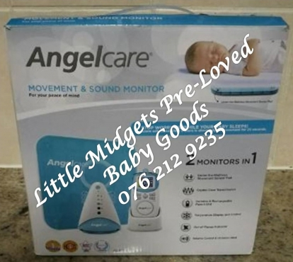 second hand angel care sound and movement monitor please whats app after 5. Black Bedroom Furniture Sets. Home Design Ideas
