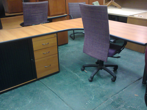 Cherry Wood Office Furniture - Used  Sandton  Office Furniture  66164270   Junk Mail Classifieds