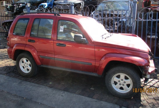 KJ Jeep Cherokee Stripping for Spares