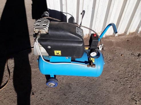 Compressor blue