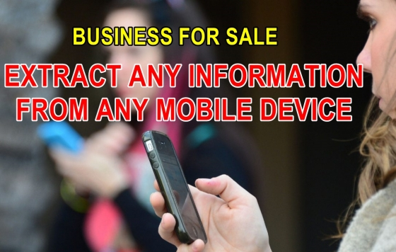Cellphone mobile forensics ( data extraction) business for sale even if deleted R410 000