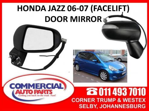 Honda Jazz 06-07 facelift Door mirrors (elec) for sale