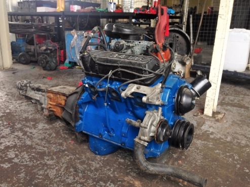 Ford 3 4 v6 engine and gearbox only roodepoort engines for 2 4 motor for sale