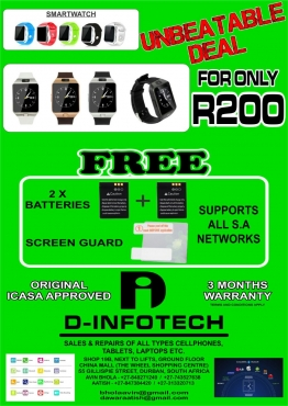Smart Watches: Unbeatable Deal with Free Battery