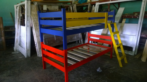 Bunk Beds Painted Colours West Rand Bedroom Furniture