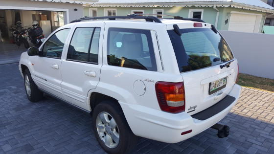 Jeep Grand Cherokee V8 4.7L. Limited edition.