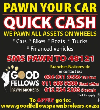 CARS WANTED FOR CASH. GET INSTANT CASH TODAY!