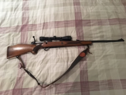 Sako .270 Hunting Rifle with extras