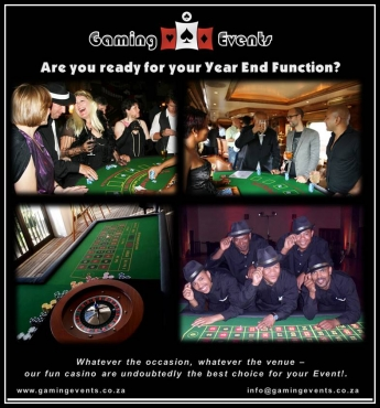 Gaming Events Year End Function Entertainment