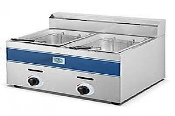 Chip Fryers Electric & Gas Single Double Spaza From R695