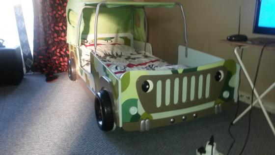 Kiddies Jeep Tent Bed