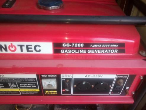 7.2 kva generator