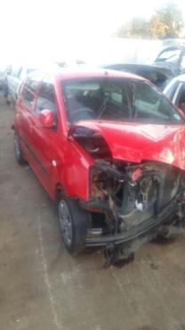 Kia Picanto 2008 Code 2 Shell and Papers for Sale