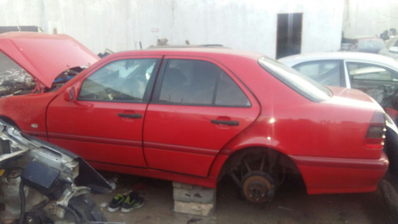 Mercedes W202 2001 code 2 shell n papers for sale