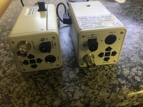 6 Dome Cameras, 2 Box Cameras and 3 external CCTV Cam Housings