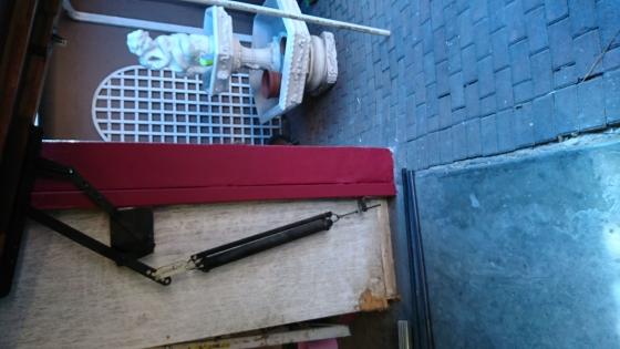 Garage door arms and springs