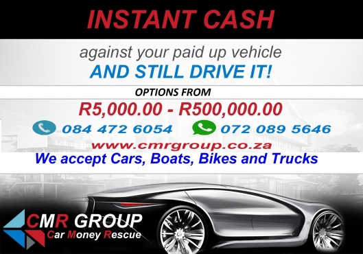 We LOAN Cash against vehicles - Pawn your car and STILL DRIVE IT!