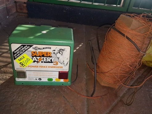 Fence energizer for sale
