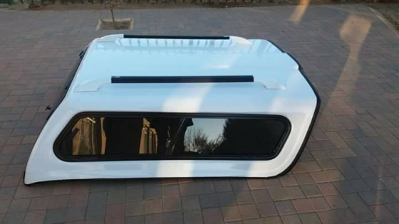 Executive canopy vir wit Chevrolet Utility Bakkie