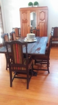 Adam Bede Solid Mahogany Dining Table And Chairs | Pretoria East ...