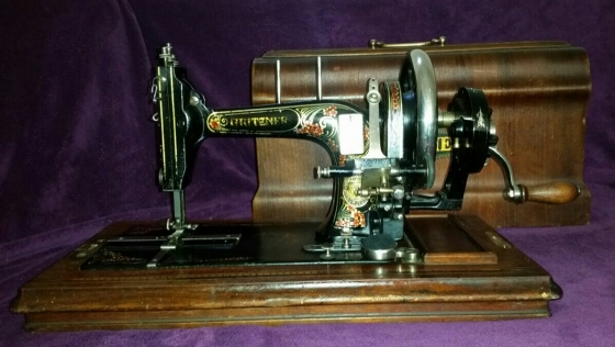 1920 Gritzner Durlach sewing machine from Germany - very scarce
