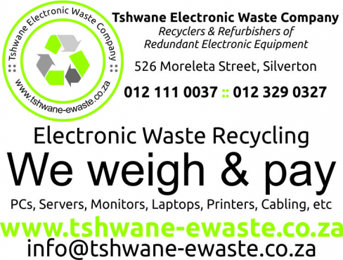 GET SOME BUCK FOR YOUR E-WASTE
