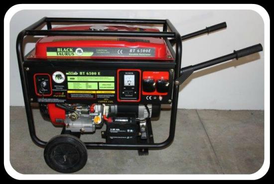 6.5 kva petrol generators