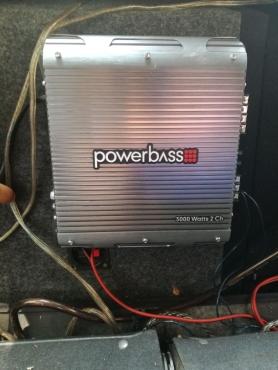 Powerbass Monoblock 3000 watts 2 Channel
