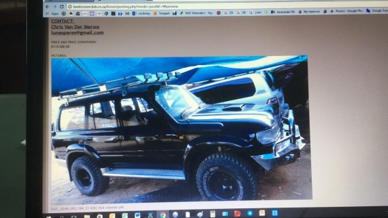 Toyota land cruiser hdj 80 automatic, stripping for spares