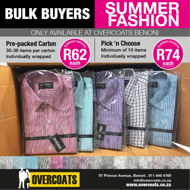 Bulk Buyers - Men's Shirts