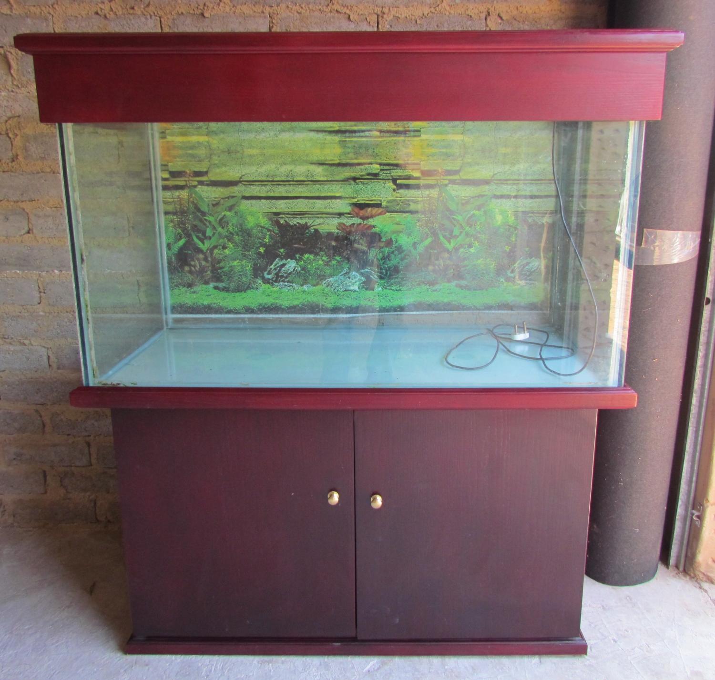 Fish tank cabinet za - Aquarium Cabinet Fish Tank Custom Built 1 3m 450l