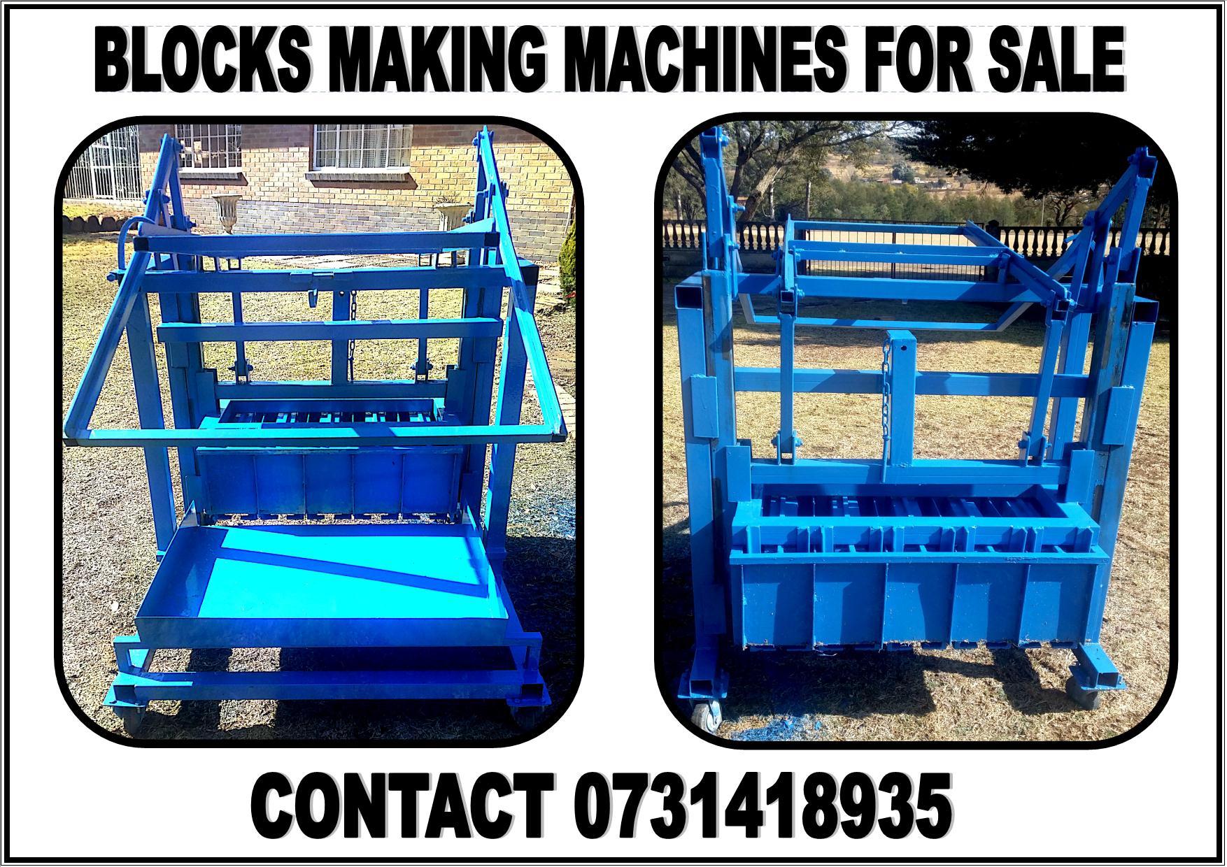 blocks making machine for sale