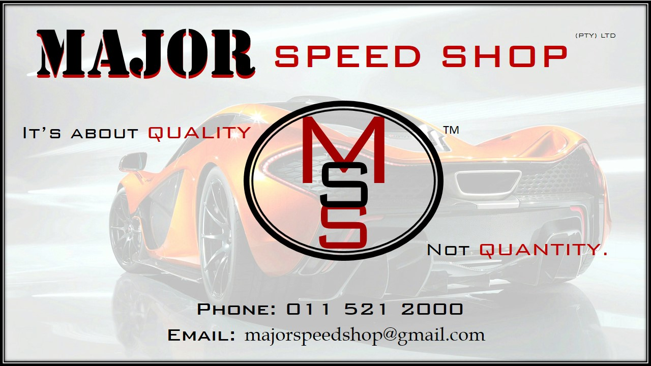Major Speed Shop (PTY) LTD