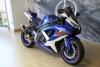 Blue & White Suzuki GSXR600