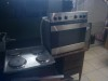 DEFY 4 PLATE STOVE AND OVEN GOOD WORKING CONDITION