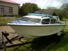 Baronet boat with 115hp Mercury motor