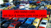 We buy & pawn cars for cash