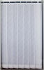 White and grey vertical blinds (6 sets of