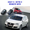 VW Golf 5 / Jetta 5 Remote Keys / Spare Keys
