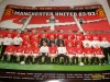 Manchested United Poster, Nine Beers and 3 Panoni Cards.