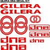 Gilera DNA scooter decals stickers graphics kits