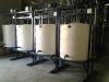 4x 1000 liter mixing machines