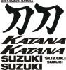 Suzuki Katana decals sticker graphics kits