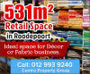 Decor / Fabric Retail Space Available