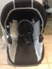 Black Hauck demo car seat